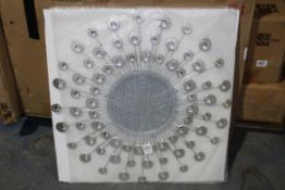 BOXED ROUND DECORATIVE MIRROR RRP £59.99 (AS SEEN IN WAYFAIR)Condition ReportAppraisal Available