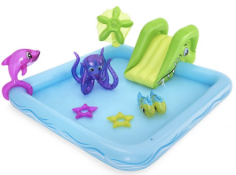 BESTWAY FANTASTIC AQUARIUM PLAY CENTER £20.00Condition ReportAppraisal Available on Request- All