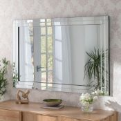 BOXED YEARN BG05 60 X 90 X 1.5CM GLASS MIRROR RRP £108.00 (AS SEEN IN WAYFAIR)Condition