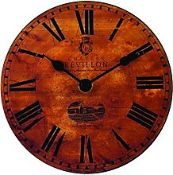 BOXED LASCELLES LONDON WALL CLOCK RRP £65.00 (AS SEEN IN WAYFAIR)Condition ReportAppraisal Available