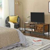 BOXED VASAGLE BY SONGMICS TV CABINET LTV42BX RRP £84.99 (AS SEEN IN WAYFAIR)Condition