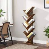 BOXED VASAGLE BY SONGMICS BOOKCASE LBC11BX RRP £89.99 (AS SEEN IN WAYFAIR)Condition