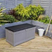 BOXED CHARLES BENTLEY 270L STORAGE BOX PRODUCT CODE: GLPLSTORE270LGY RRP £99.00 (AS SEEN IN