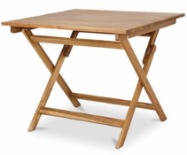 DENIA TABLE 90X90 ACACIA £70.30Condition ReportAppraisal Available on Request- All Items are