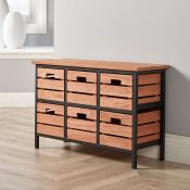 BOXED GRASSMERE 6 DRAWER WIDE PRODUCT CODE: CHTGRA6WD RRP £49.99 (AS SEEN IN WAYFAIR)Condition