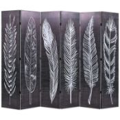 BOXED HERNDON 4 PANEL ROOM DIVIDER VDAX5035 RRP £111.99 (AS SEEN IN WAYFAIR)Condition