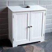 BOXED BATH VIDA PRIANO UNDER SINK BATHROOM CABINET RRP £49.99 (AS SEEN IN WAYFAIR)Condition