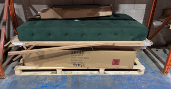 One pallet to contain a variation of furniture part lots, part lots only