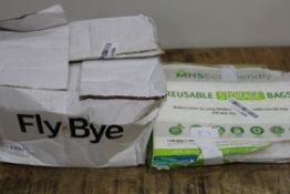 X 2 ITEMS TO INCLUDE REUSABLE STORAGE BAGSCondition ReportAppraisal Available on Request- All