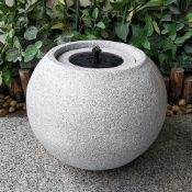 CONCRETE SMALL WATER FEATURE AS SEEN IN WAYFAIR RRP £99.99Condition ReportAppraisal Available on