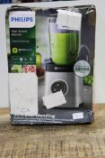 PHILIPS HIGH SPEED BLENDER RRP £139.99Condition ReportAppraisal Available on Request- All Items