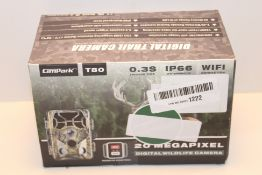 Campark Wildlife Camera-WiFi 20MP 1296P Trail Game Camera with Night Vision Motion Activated for