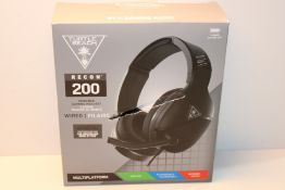 Turtle Beach Recon 200 Black Amplified Gaming Headset - PS4, PS5, Xbox One, Nintendo Switch & PC £