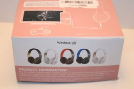6S Wireless Headphones Over Ear, [52 Hrs Playtime] Hi-Fi Stereo Foldable Wireless Stereo Headsets