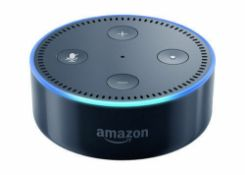 X10 Amazon Echo Dot (2nd Gen) Smart Speaker with Alexa - Black, Complete in fully working order,