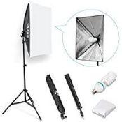ESDDI Softbox Photography Light, 20 x 28 Inch Studio Lighting Equipment, Continuous Photography