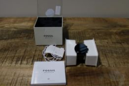 MENS FOSSIL WATCH WITH OS BY GOOGLE RRP £160Condition ReportBRAND NEW