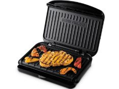 George Foreman 25810 Medium Fit Grill - Versatile Griddle, Hot Plate and Toastie Machine with