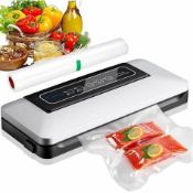 Aobosi Vacuum Sealer/5 in 1 Automatic Food Sealer Machine for Food Storage and Preservation with