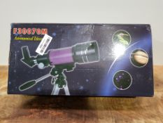Astronomical telescope 30070 with tripod、finderscope and phone clip-Entry-level products for