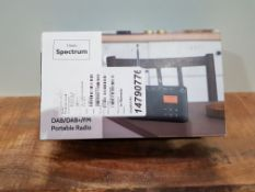 DAB/DAB+ & FM Radio, Mains and Battery Powered Portable DAB Radios Rechargeable Digital Radio with