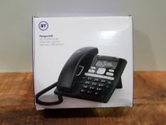 BT Paragon 650 Corded Phone with Answering Machine, Black £48.93Condition ReportAppraisal Available