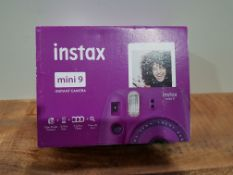 instax 70100143721 mini 9 Clear Camera with 10 shots, Purple £64.92Condition ReportAppraisal