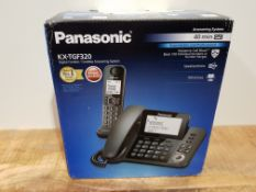 Panasonic KX-TGF320 Corded and Cordless Home office Telephone Kit with Answerphone and Nuisance Call