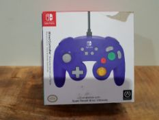 PowerA Wired Officially Licensed GameCube Style Controller/Super Smash Bros. Purple £23.12Condition