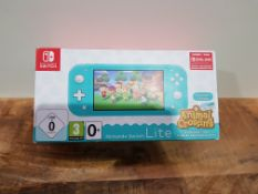 Nintendo Switch Lite (Turquoise) Animal Crossing New Horizons + NSO 3 months £219.95Condition
