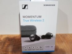 Sennheiser MOMENTUM True Wireless 2, Bluetooth Earbuds with Active Noise Cancellation, Black £240.