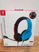 PDP LVL40 Wired Stereo Headset for NS -Joycon Blue/Red £21.74Condition ReportAppraisal Available on