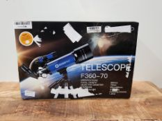 Telescopes for Kids Beginners,70mm Astronomy Refractor Telescope with Adjustable Tripod Portable