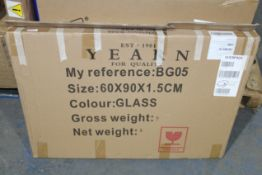 BOXED LARGE BEVELLED EDGE MIRROR (AS SEEN IN WAYFAIR)Condition ReportAppraisal Available on Request-