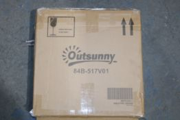 BOXED OUTSUNNY COVER 84B-517V01 (AS SEEN IN WAYFAIR)Condition ReportAppraisal Available on