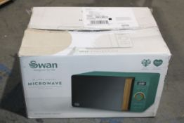 BOXED NORDIC COLLECTION 20L DIGITAL MICROWAVE PINE GREENCondition ReportAppraisal Available on
