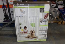 BOXED LINDAM EASY FIT PLUS DELUXE TALL SAFETY GATE Condition ReportAppraisal Available on Request-
