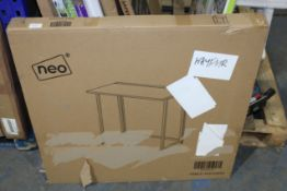 BOXED NEO TABLE NATURAL (AS SEEN IN WAYFAIR)Condition ReportAppraisal Available on Request- All