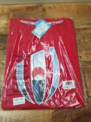 BRAND NEW RUGBY WORLD CUP JAPAN RED T-SHIRT SIZE XL (BU286)Condition ReportAppraisal Available on