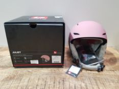BOLLE JULIET 54-58CM VINTAGE ROSE HELMET RRP £74.40Condition ReportAppraisal Available on Request-