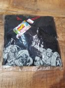 BRAND NEW MARVEL COMINS PJAMA SHORTS SET SIZE SMALLCondition ReportAppraisal Available on Request-