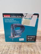 MAKITA CORDLESS JIG SAW JV183DZ RRP £71Condition ReportAppraisal Available on Request- All Items are