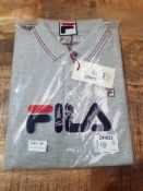 BRAND NEW FILA POLO SHIRT IN GREY SIZE SMALL RRP £26Condition ReportAppraisal Available on