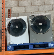 PALLET TO CONTAIN X2 HOOVER LARGE CAPACITY WASHING MACHINES