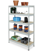 RRP-£331.70 One Pallet To Contain x10 Items to include Shelfs, Cabinets and More