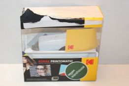 Kodak Printomatic Digital Instant Print Camera - Full Color Prints On ZINK 2 x 3 Inch Sticky-