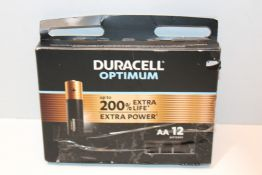 Duracell NEW Optimum AA Alkaline Batteries [Pack of 12] 1.5 V LR6 MX1500 £13.00Condition