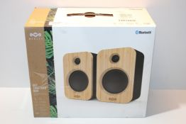 House of Marley Get Together Duo Bluetooth Speakers - Sustainably Crafted, Bookshelf Style, Wireless