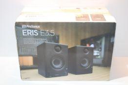 PreSonus Eris E3.5 Multimedia Speakers Studio Monitors (Pair) £85.00Condition ReportAppraisal