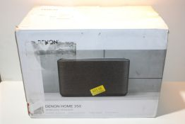 Denon Home 350 Wireless Speaker, Stereo speaker with Bluetooth, WiFi, AirPlay 2, Google
